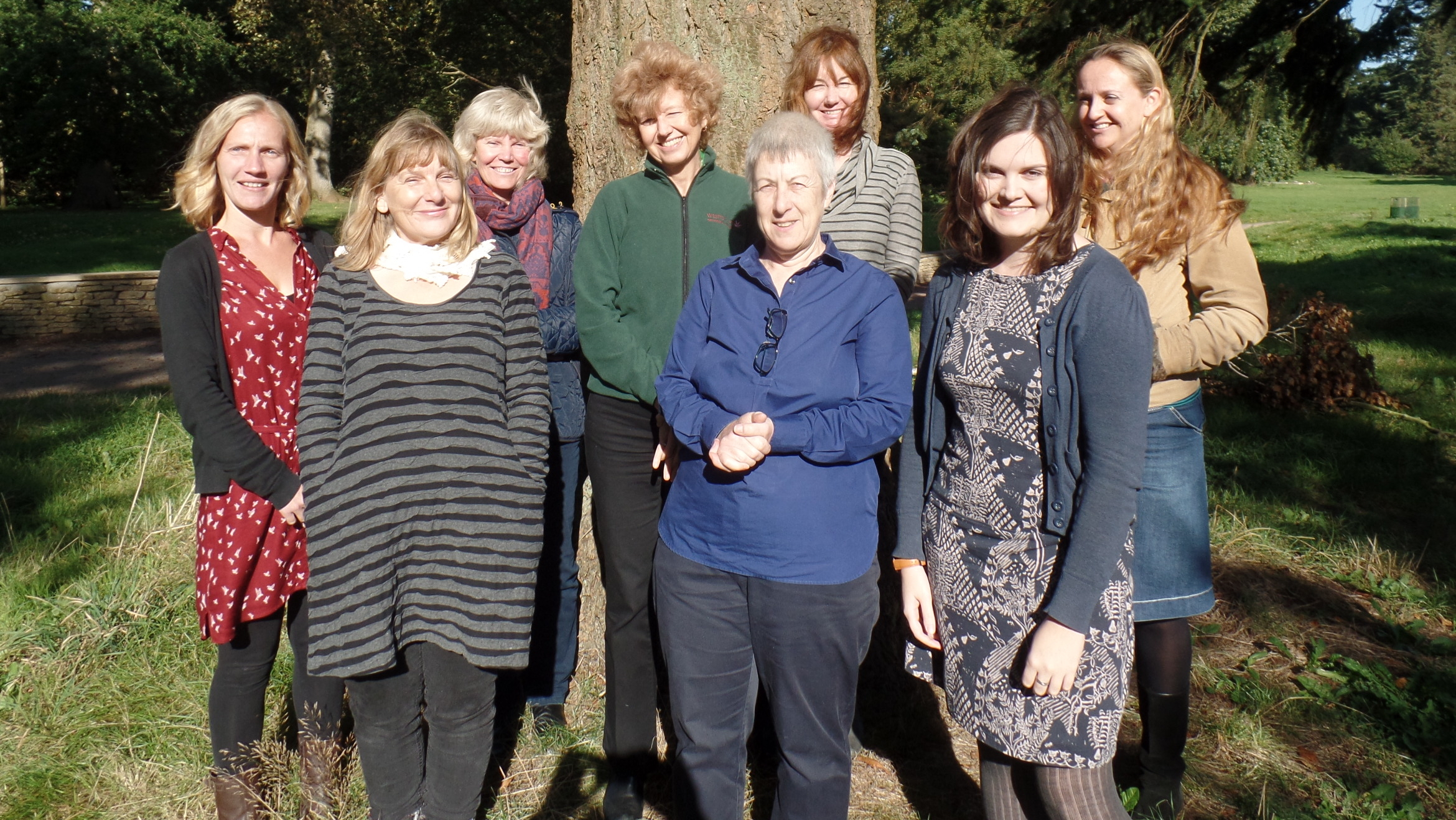 The Friends of Westonbirt Arboretum team